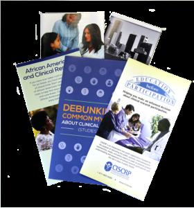 Brochures - example of digital printing