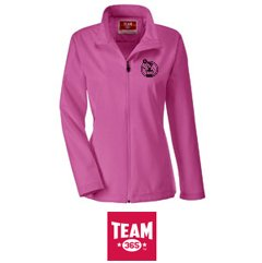 Your team logo embroidered on a soft shell jacket